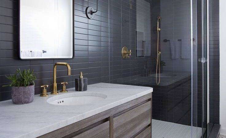 Best Modern Bathroom Tile Ideas Pinterest Hexagon