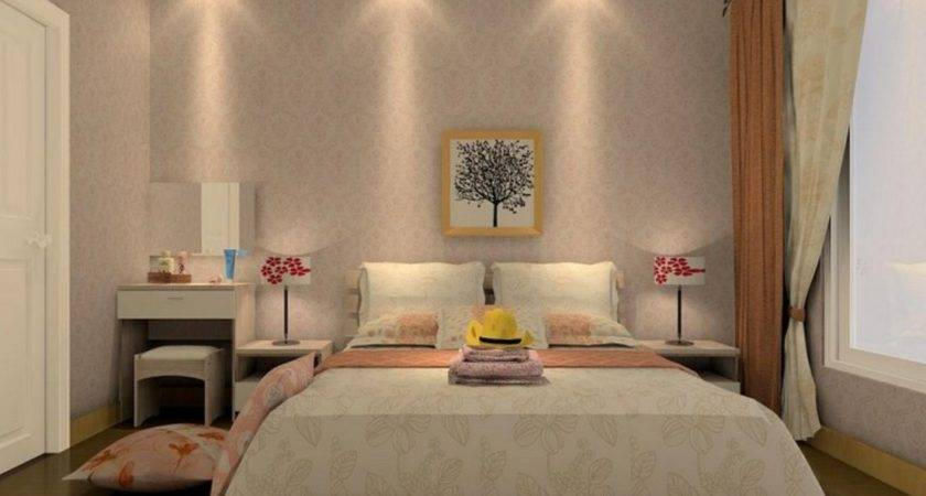 Best Pop Design Small Bedroom Interior Beige