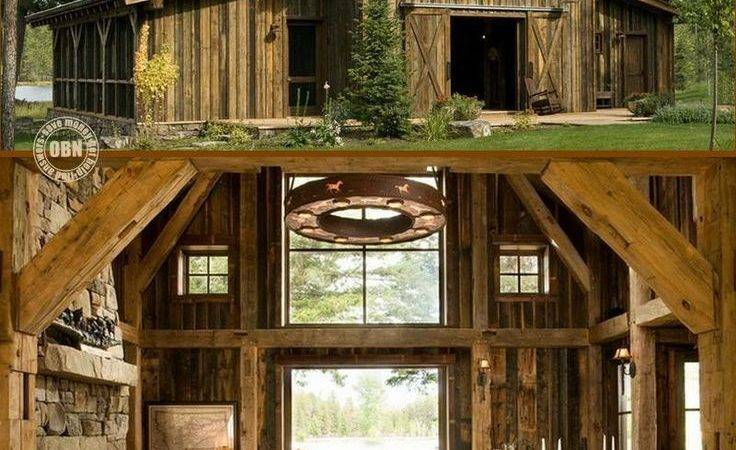Best Rustic Barn Homes Ideas Pinterest