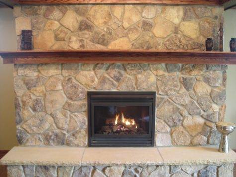 Best Stone Fireplace Hearth Design Ideas