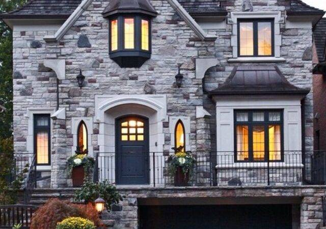 Best Stone Front House Ideas Pinterest