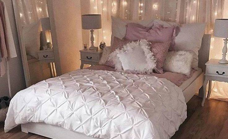 Best String Lights Bedroom Ideas Pinterest