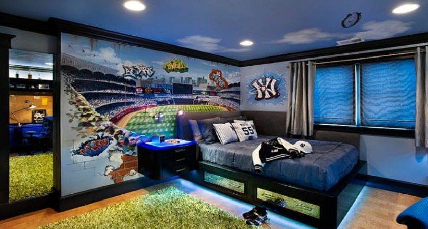 Best Teenage Boys Bedroom Decorating Ideas