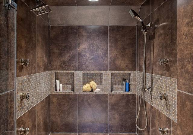 Best Tile Shower Walls Bathroom Contemporary