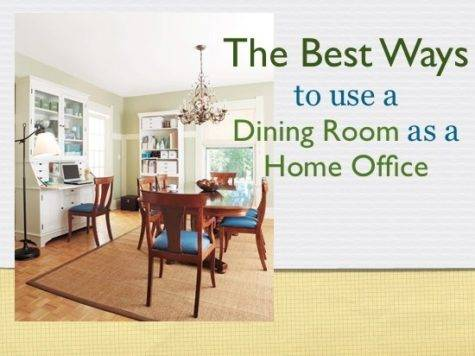Best Ways Dining Room Home Office