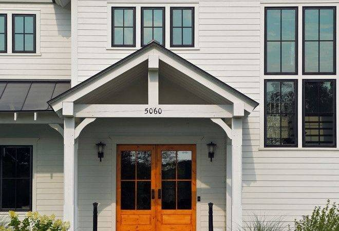 Best White Farmhouse Exterior Ideas Pinterest