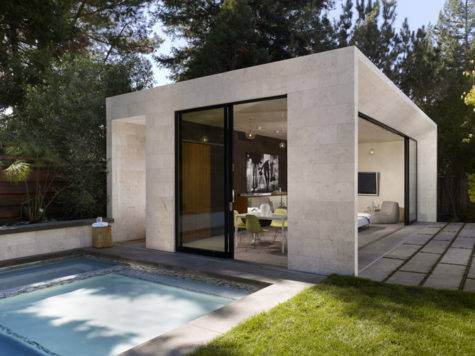 Bevan Associates Portfolio Modern Poolhouse