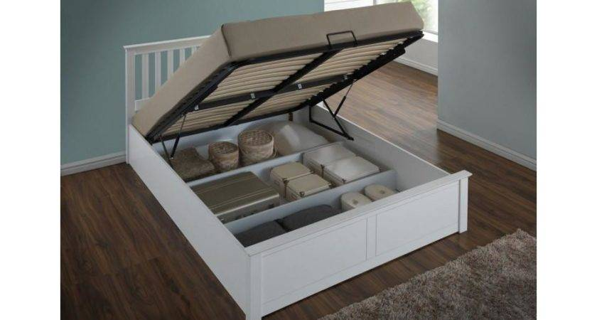 Birlea Wooden Bed Storage Gas Lift Available