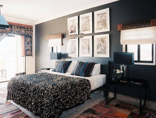 Black Accent Wall Photos Design Ideas Remodel