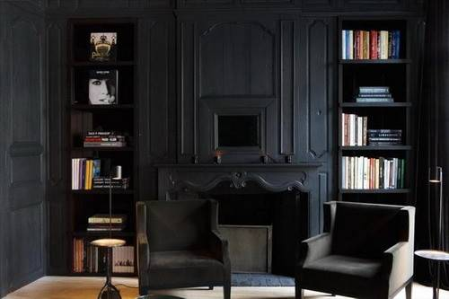 Black Living Room Add Best Colors Home