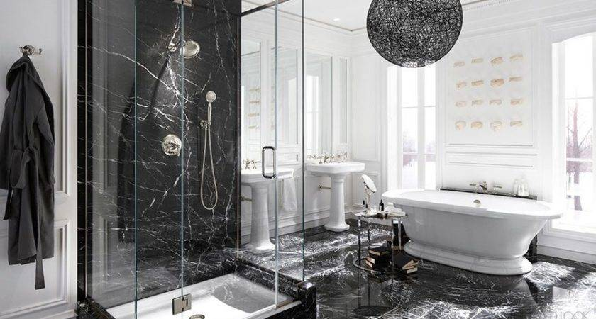 Black Marble Can Make Your Home More Glamorous