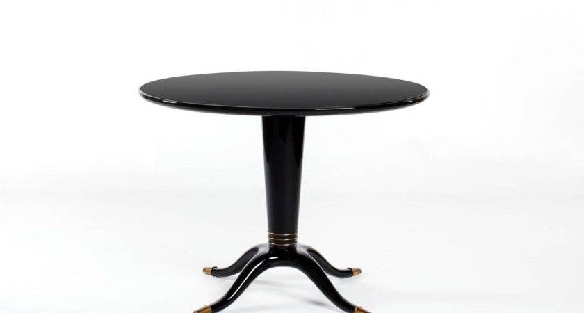 Black Pedestal Tables Octopus Table