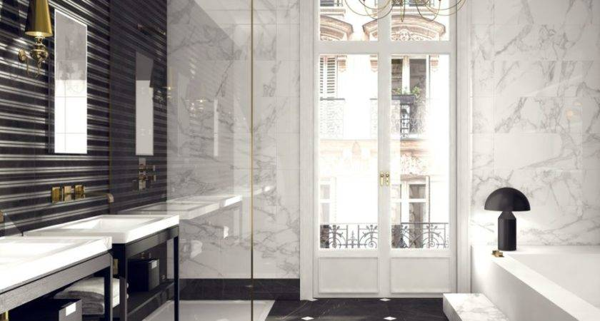 Black White Bathroom Ideas Never Out Style