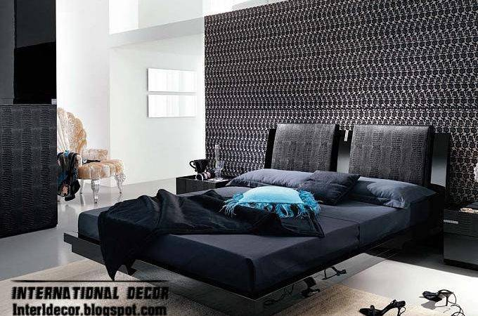 Black White Bedrooms Designs Paint Furniture