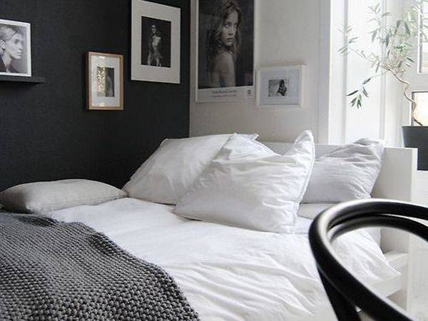 Black White Decorating Ideas Bedrooms