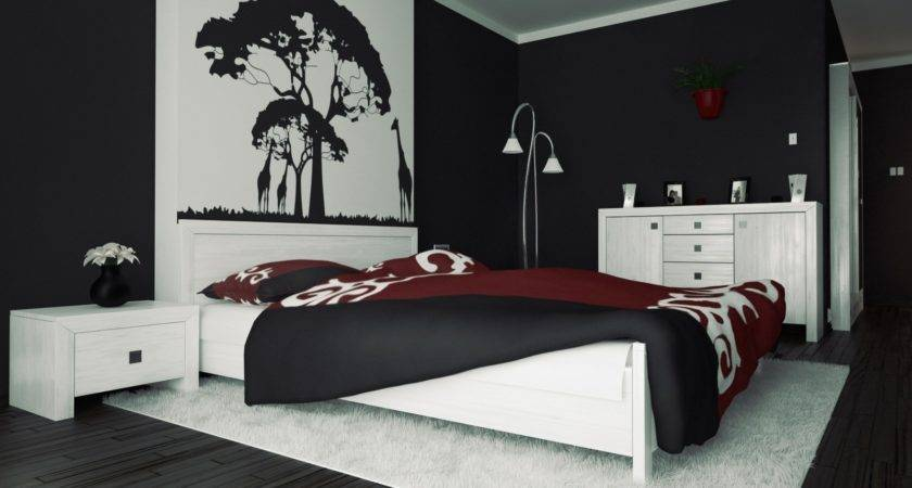 Black White Red Bedroom Gen Congresscom