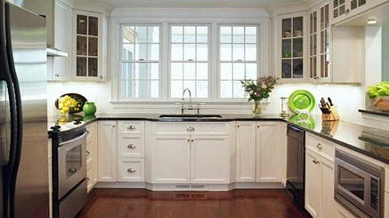Bloombety Awesome Shaped Kitchen Layout