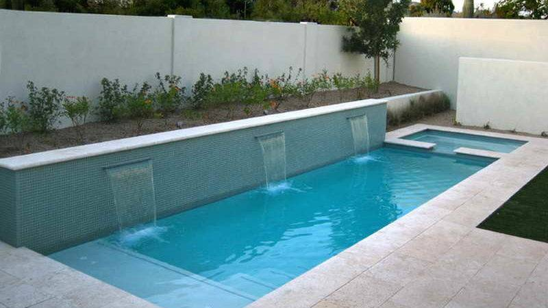 Bloombety Contemporary Lap Pool Ideas