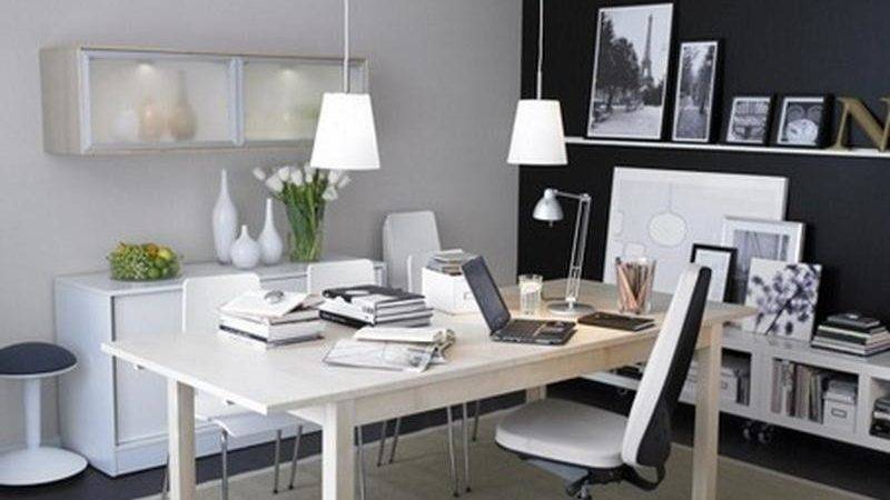 Bloombety Cool Simple Home Office Design