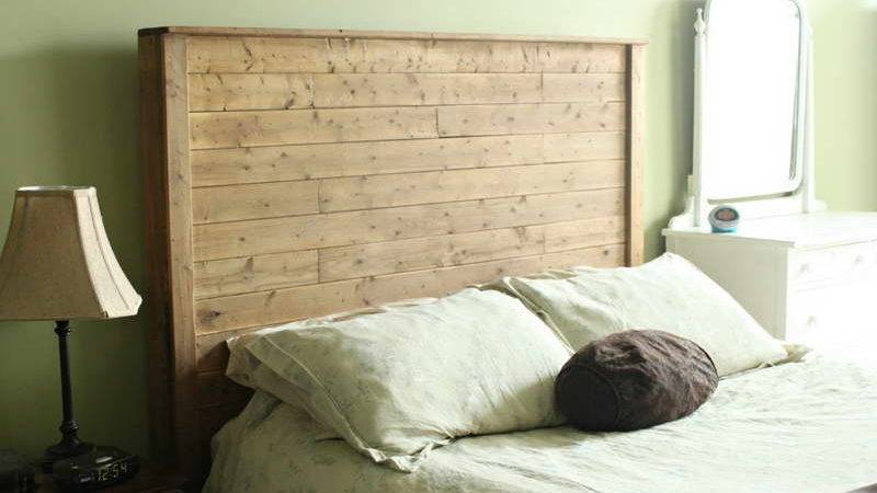 Bloombety Ideas Diy Bed Frame Headboard Wood