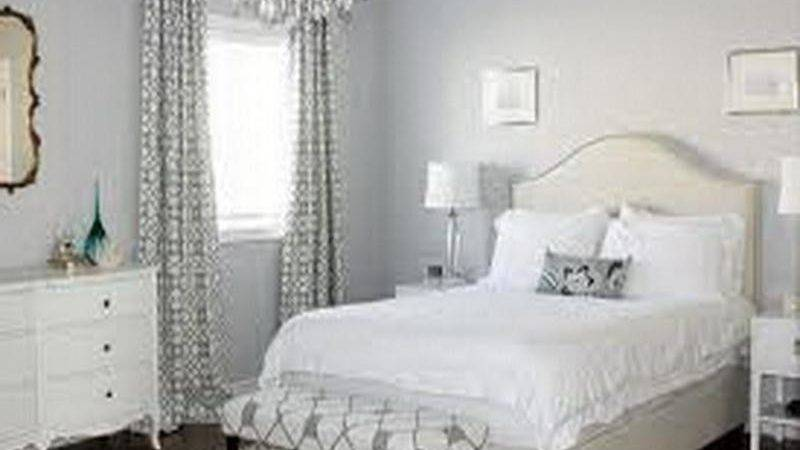 Bloombety Neutral Purple White Bedroom Furniture
