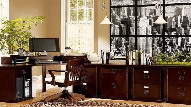 Bloombety Nice Home Office Decorating Ideas