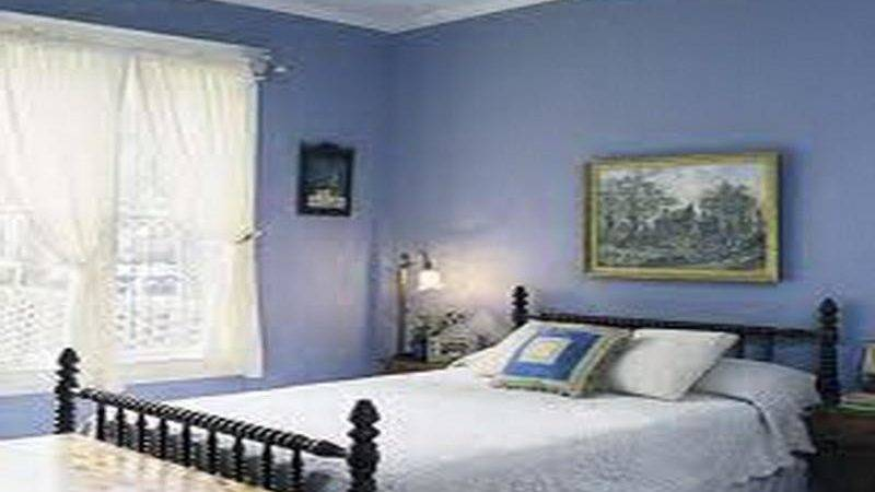 Bloombety Painting Bedroom Blue Design