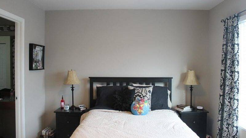 Bloombety Perfect Grey Paint Color Bedroom