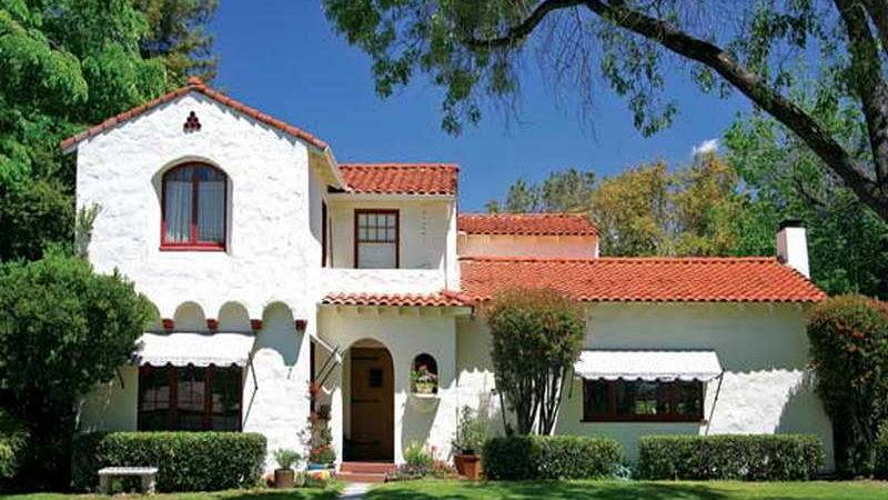 Bloombety Spanish Style Ranch Homes Front