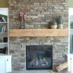 Bloombety Stone Fireplaces Decorating Idea