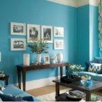Blue Rooms Pinterest Living
