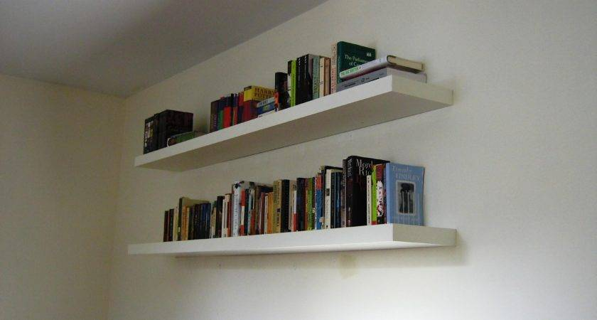 Bookshelf Wall Mounted Floating Book Shelf
