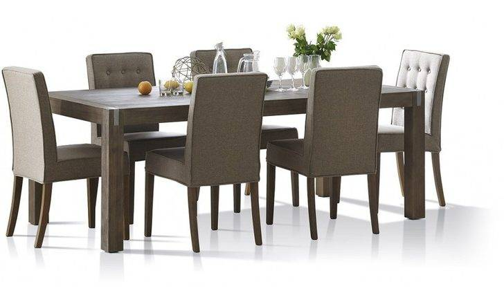 Boulevard Piece Dinning Table Chairs Focus