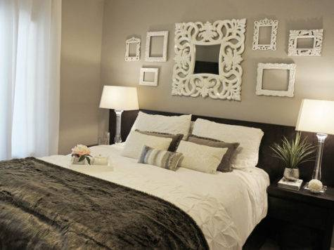 Boutique Hotel Inspired Guest Bedroom Contemporary
