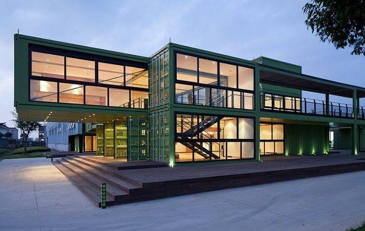 Breathtaking Homes Made Shipping Containers