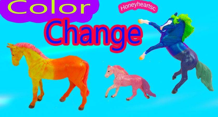 Breyer Color Change Horses Diy Stablemates Mini Whinnies