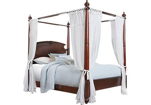 Briarcliff Queen Canopy Bed Beds