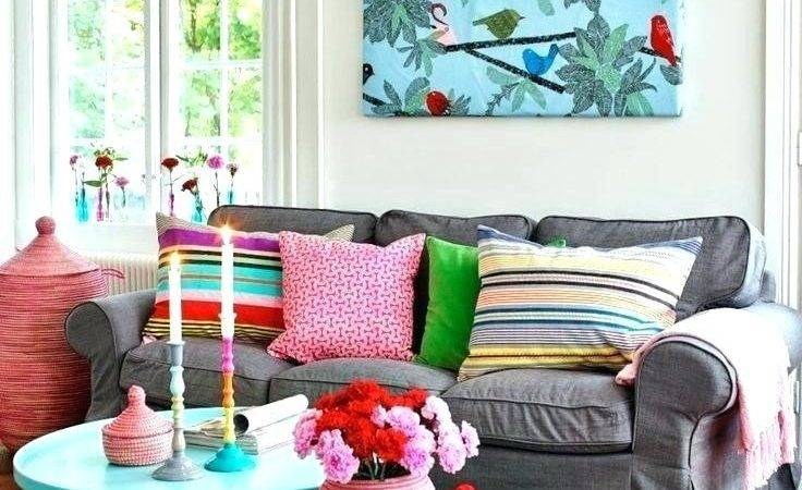 Bright Happy Colors Living Room Modern Home Design Ideas