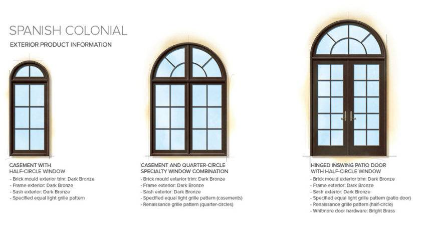 Brilliant Exterior Window Styles Spanish Colonial Home
