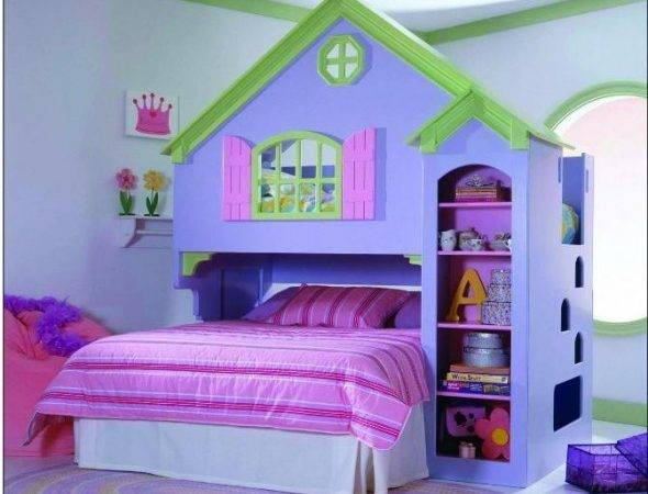 Brilliant Ideas Girl Bunk Bed Design Exciting Kids