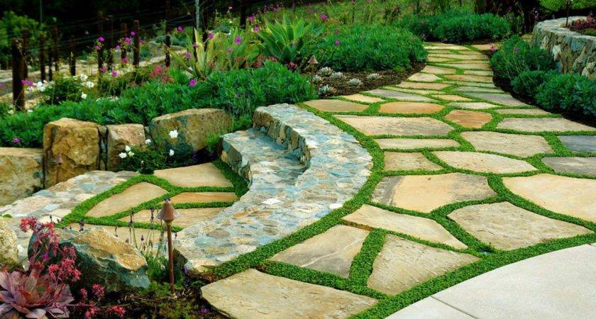 Brilliant Ideas Stone Pathways Your Garden