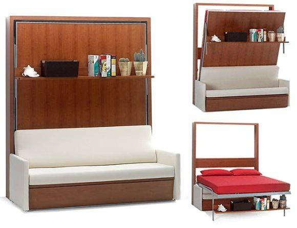 Brilliant Space Saving Bed Sofa Murphy