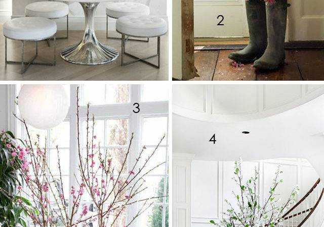 Bringing Outdoors Decorating Branches
