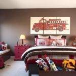 Brown Walls Traditional Boy Room Benjamin Moore