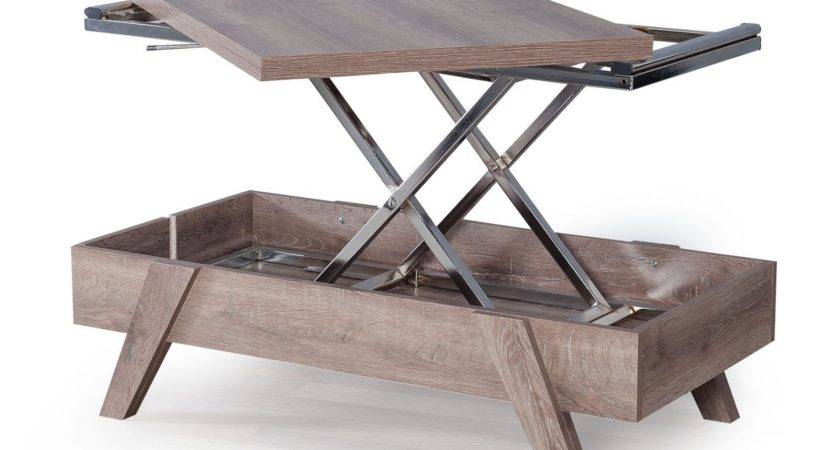Budapest Convertible Coffee Table Modern