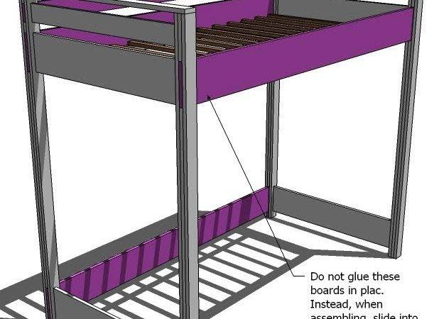 Build Your Own Wooden Bunk Beds Mag