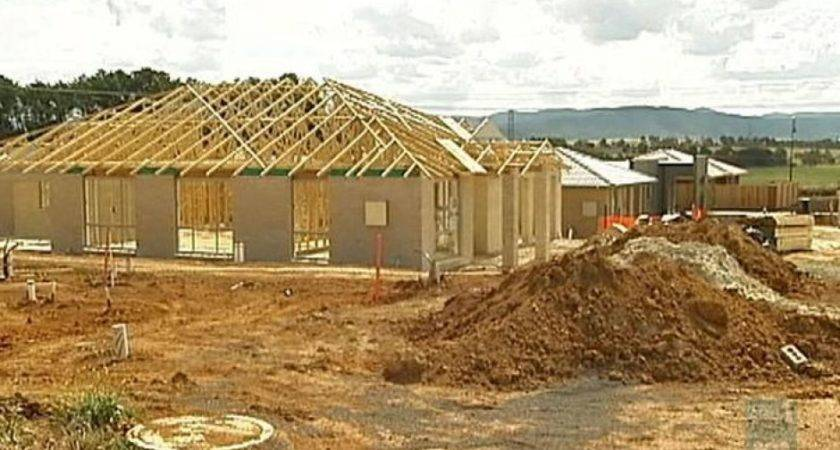 Building Construction Wooden Beams House Roof