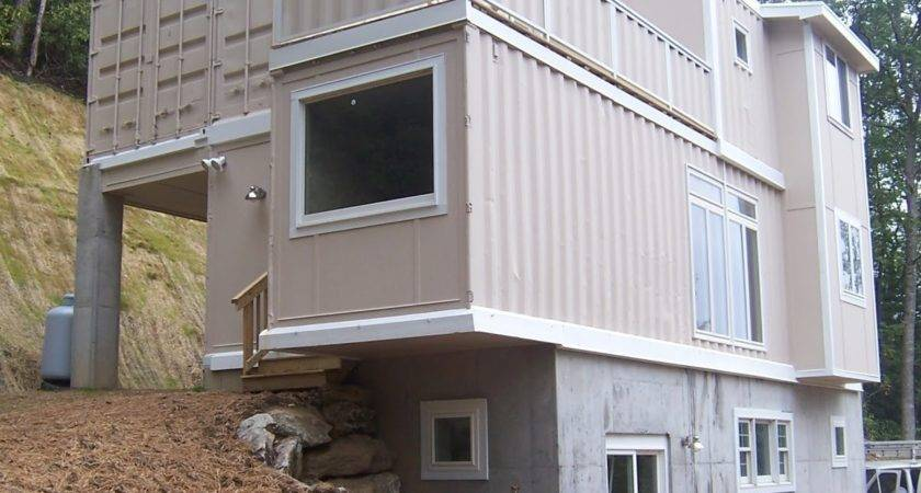 Building Container Home House Design