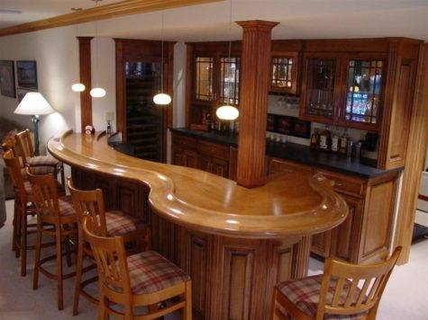 Building Home Bar Ideas Design