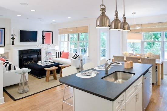 Building Our Dream Home Open Living Kitchen Designs